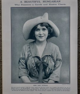 Vintage Print, The Duke of Westiminster; Miss Sari Petrass, 1913