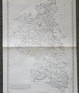 Antique Map Buckinghamshire, 1806