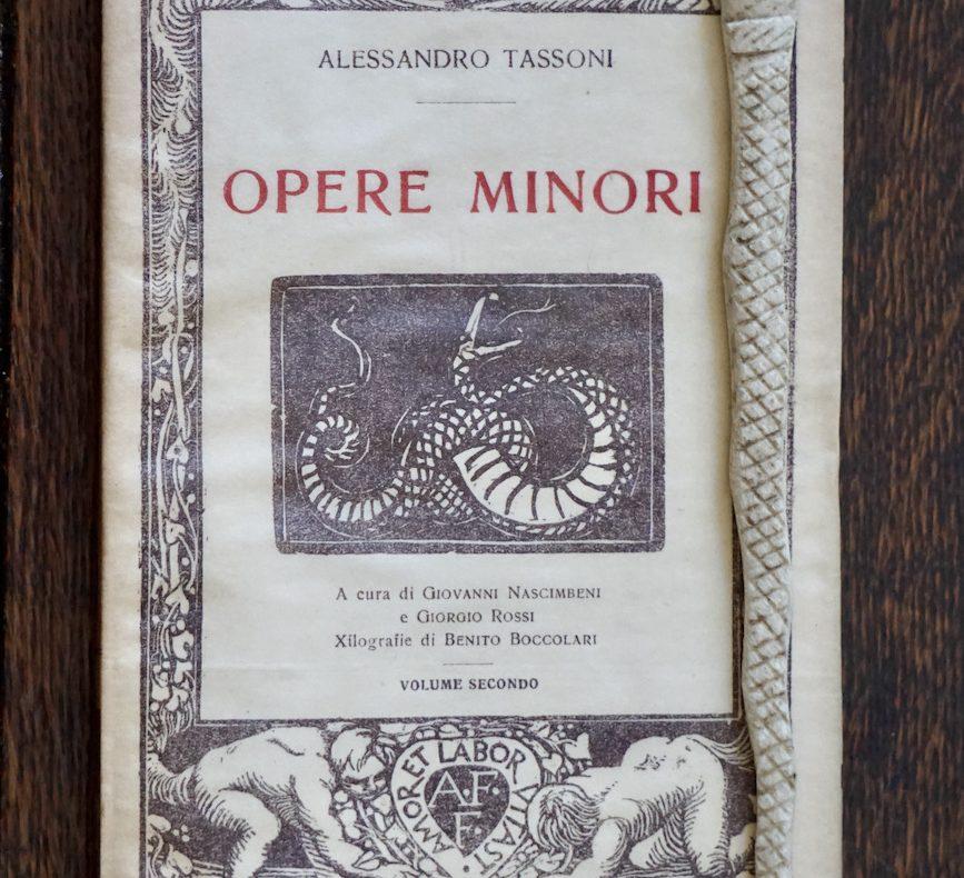 Tassoni, Petrarca, libertà intellettuale