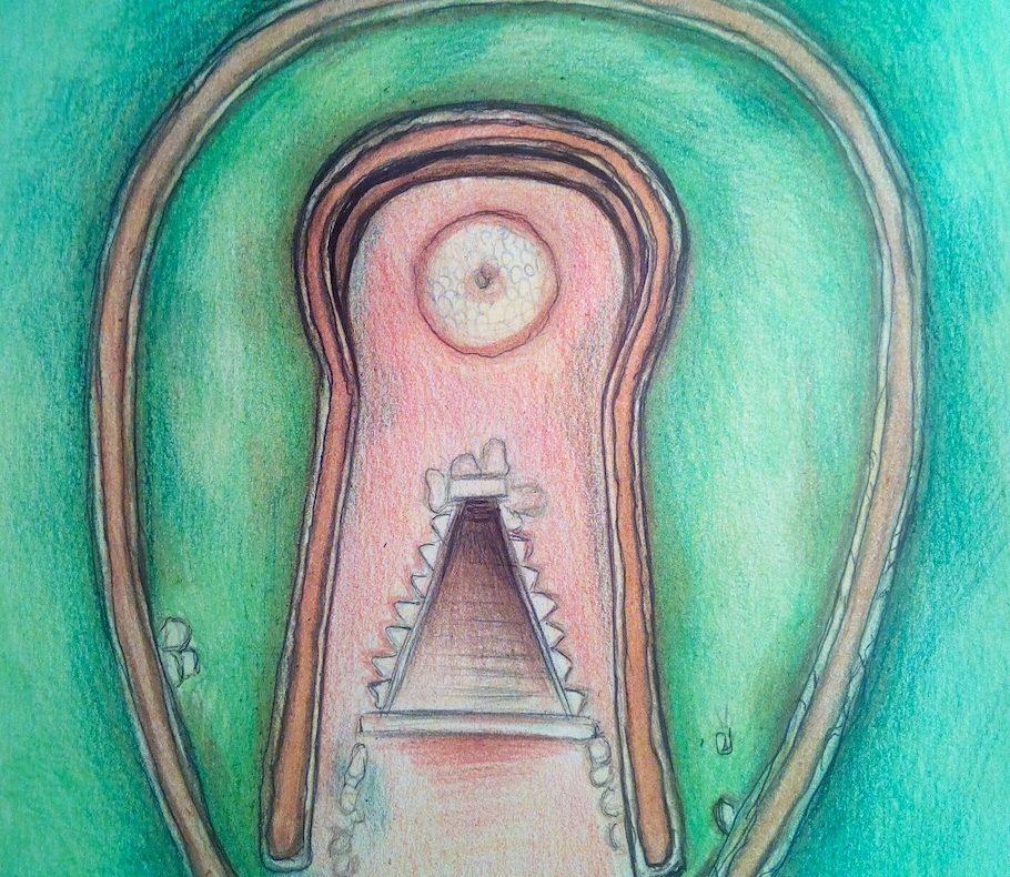 Pozzo di Santa Cristina, simbologia