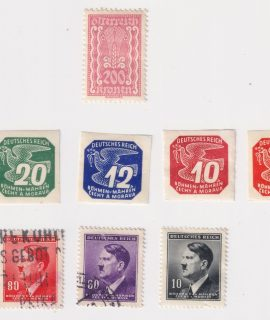 Lot of 8 Postage Stamps (Austria-Germany), 1926-1943