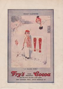 Vintage Print, Fry's Cocoa, 1920