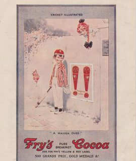 Vintage Print, Fry's Cocoa, 1920