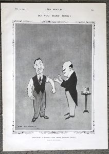 Vintage Print, Vendetta; Do you want some? 1915