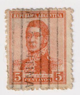 Republica Argentina, 5 centavos, Postage Stamp
