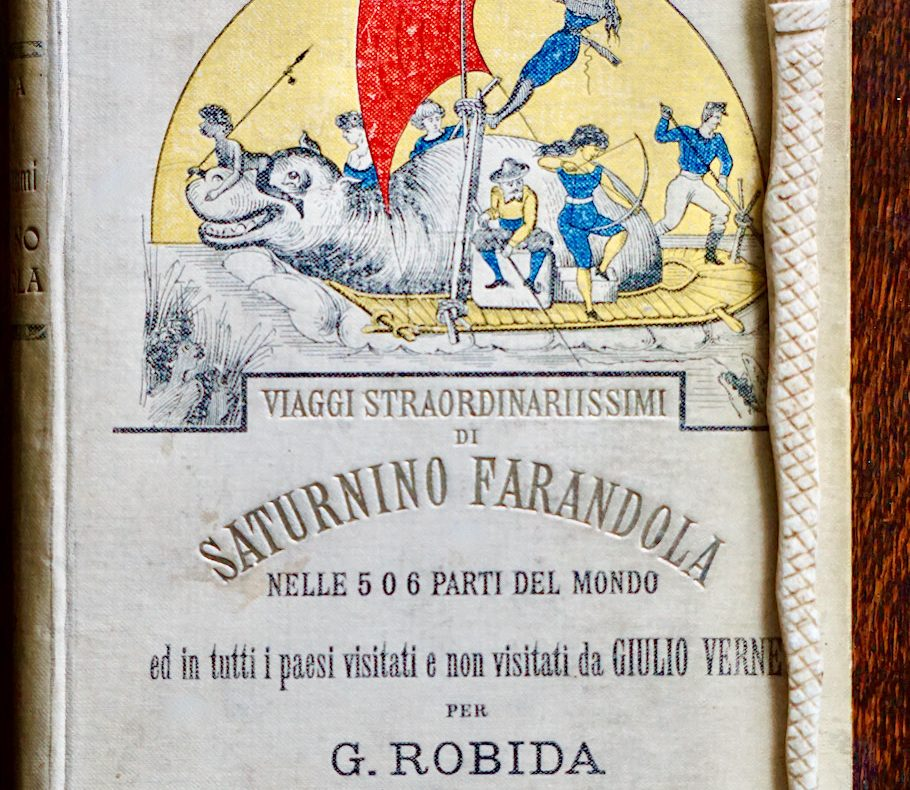 Albert Robida, Viaggi Straordinarissimi