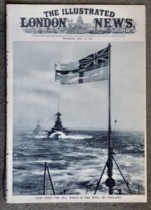 Vintage Newspaper, The Illustrated London News, July 20, 1935