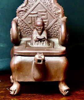 Antique Chinese Yixing Handmade Teapot, 1890 ca.