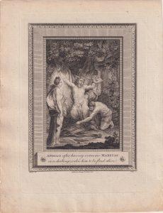 Lot of 20 Antique Engraving Prints, 1777