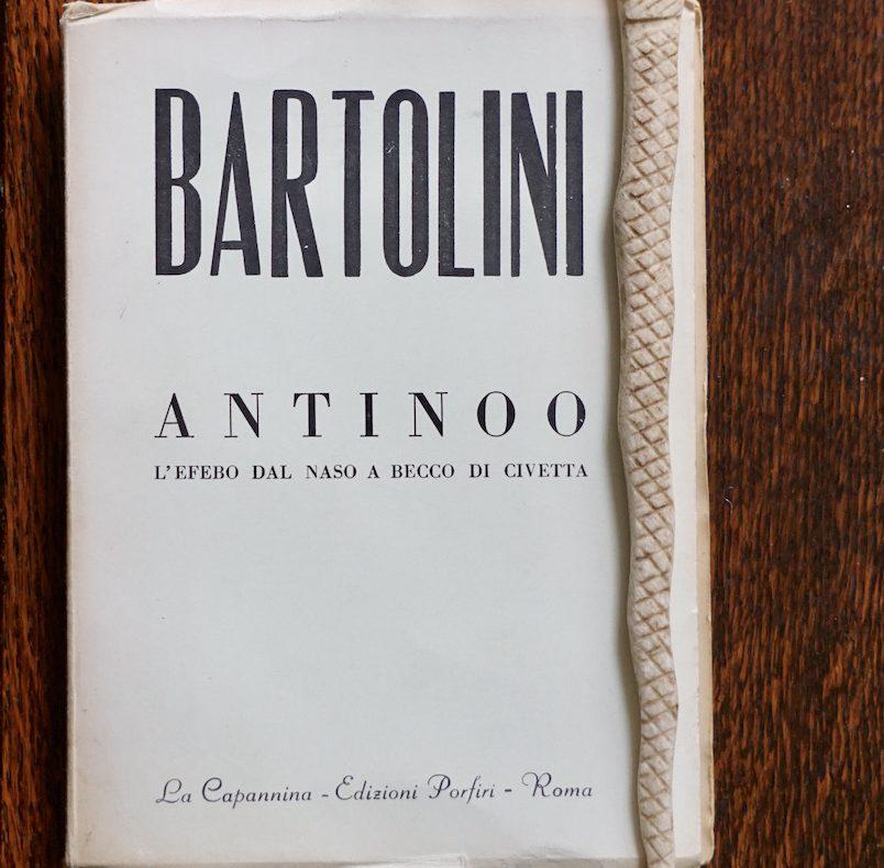 Bartolini, Antinoo, Sandro Penna