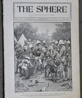 Vintage Newspaper, The Sphere, London, March 24, 1900
