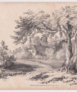 Antique Print, published by Ackermann, 1831