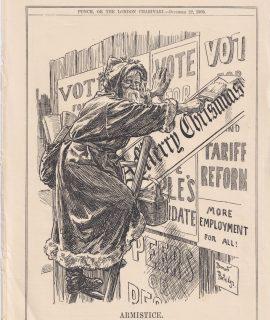 Vintage print, Armistice, 1909