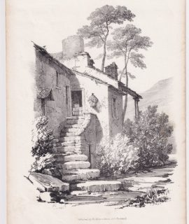Antique Print, published by Ackermann, 1833, 26 x 18 cm. We Sell Guaranteed Absolutely Original authentic Maps, Prints, Books and Vintage items.