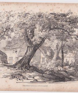 Antique Print, published by Ackermann, 1833