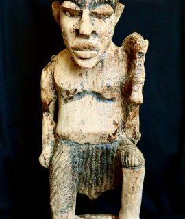 Vintage Handmade Tribal African Sculpture