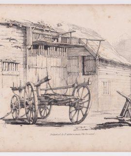 Antique Print, Ackermann, 1833