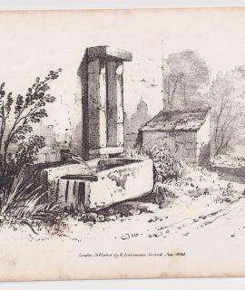 Antique Print, Ackermann, 1824