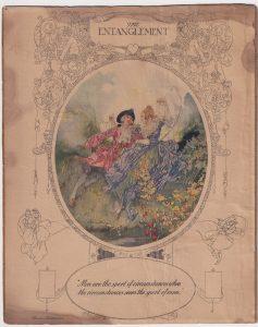 Vintage Print, The Entanglement, 1890 ca.