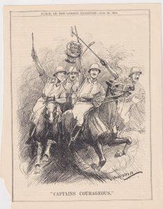 Vintage Print, Captains Courageous, 1914