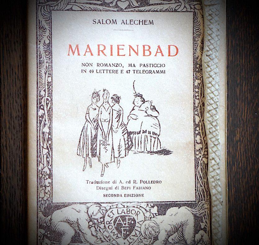 Marienbad, non romanzo, pasticcio