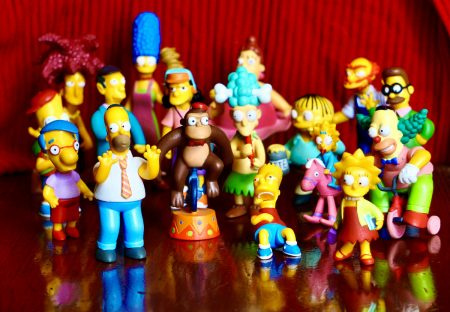 17pcs Simpsons Family Figures Toy Model 2005