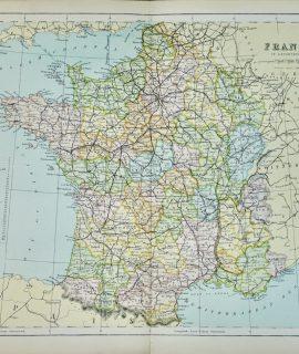 Vintage Print, France, 1901