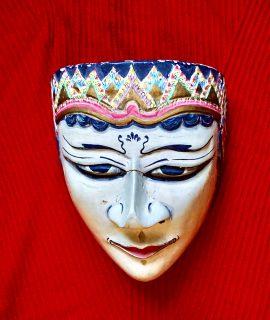 Original Vintage Ceremonial Wooden Bali Mask