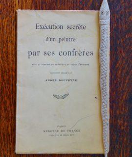 Exécution secrète d'un peintre, 1912