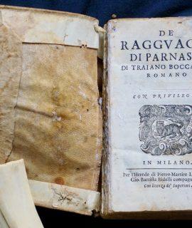 De Ragguagli di Parnaso di Traiano Boccalini Romano, 1614