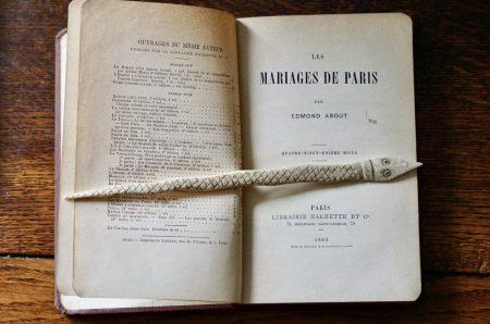 Les Mariages de Paris par Edmond About, Paris, Hachette, 1893