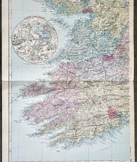 Antique Print, Ireland S. W. 1891