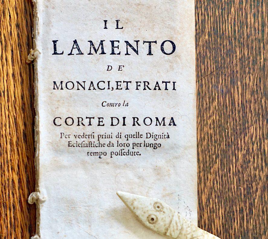Monaci, Frati, Vaticano, Lamenti