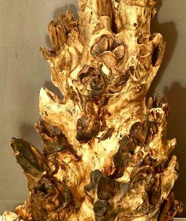 Monumental Tree Trunk Sculpture