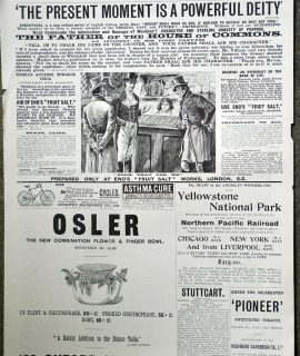 The Graphic, Advertising, 1894