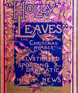 Holly Leaves the Christmas Number, 1910