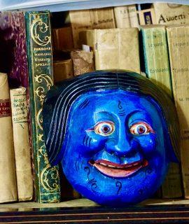 Vintage Bali Wooden Mask