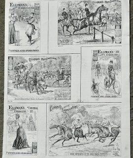 Antique Print, Advertising, 1895