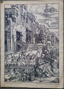 Antique Print, Albrecht Durer, 1820 ca.