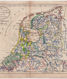 Antique Map, The Seven United Provinces from the best Authorities, 1796