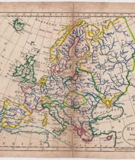 Antique Map, Europe from the best Authorities, 1795