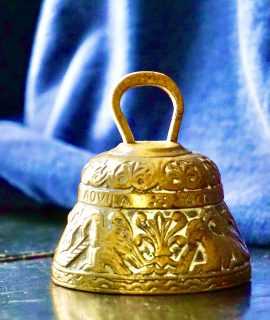 Vintage Brass Sanctuary Bell