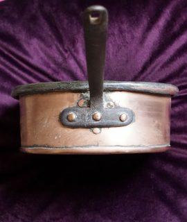Antique Copper Saucepan