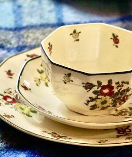 Tea Set Royal Doulton Old Leeds Sprays, 20 pcs. 1912-13