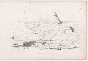 Antique Print published by Ackermann, 1833