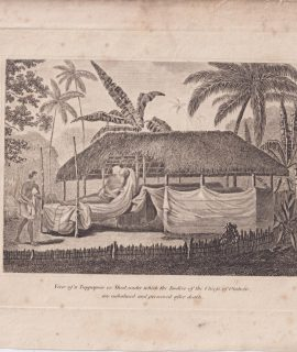 Antique Engraving Print, View of a Tuppapow..., 1793-1801