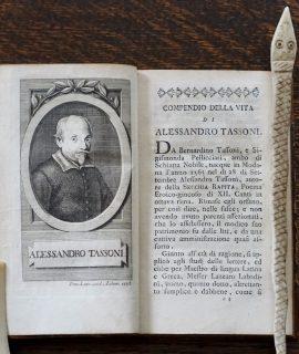 A. Tassoni, La secchia rapita, Londra, 1779