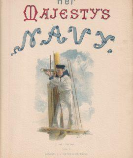 Vintage Print, Her Majesty's Navy, 1890