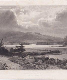 Antique Engraving Print, Some's Sound, 1840