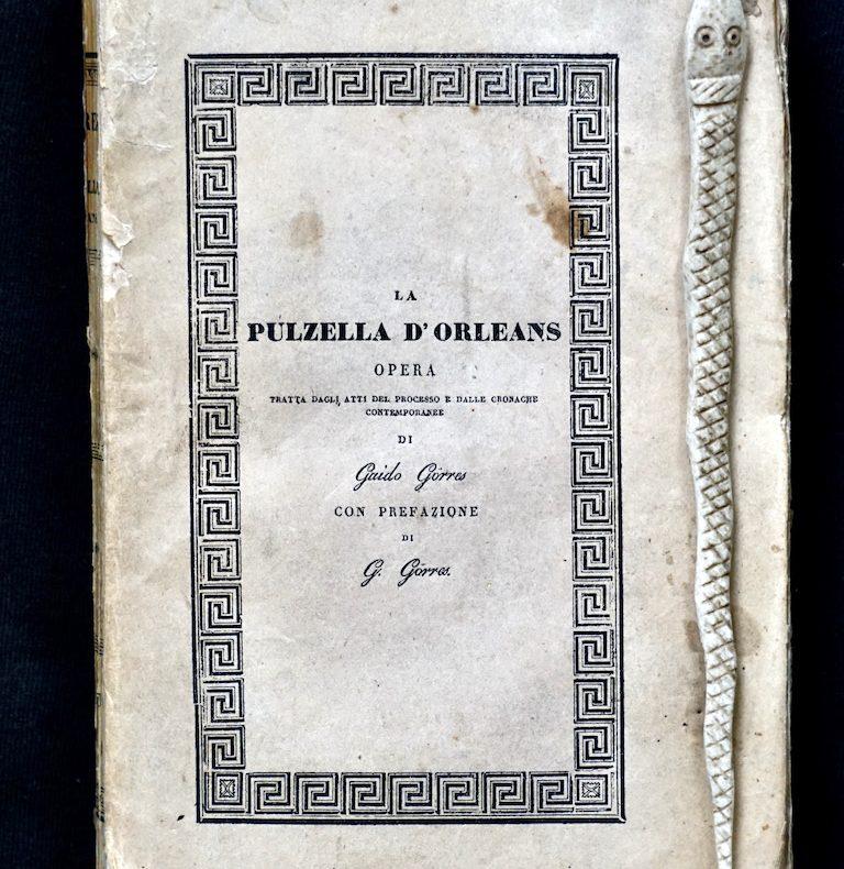 Pulzella Orléans, visionaria, santa